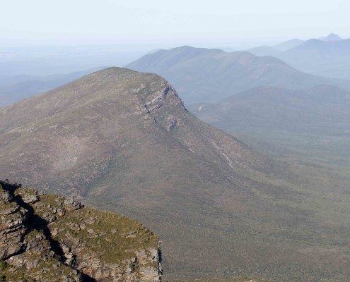 Stirling Ranges view from Bluff Knoll